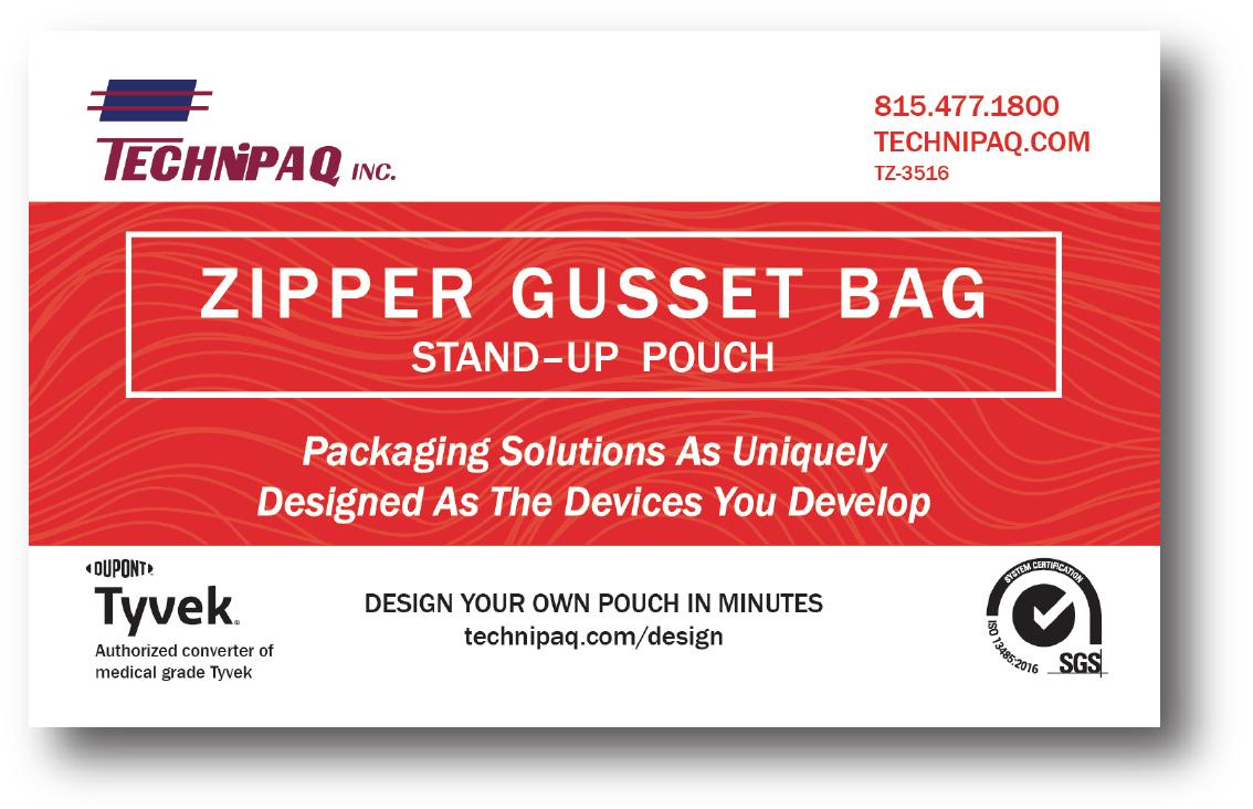ZIPPER GUSSET BAGS