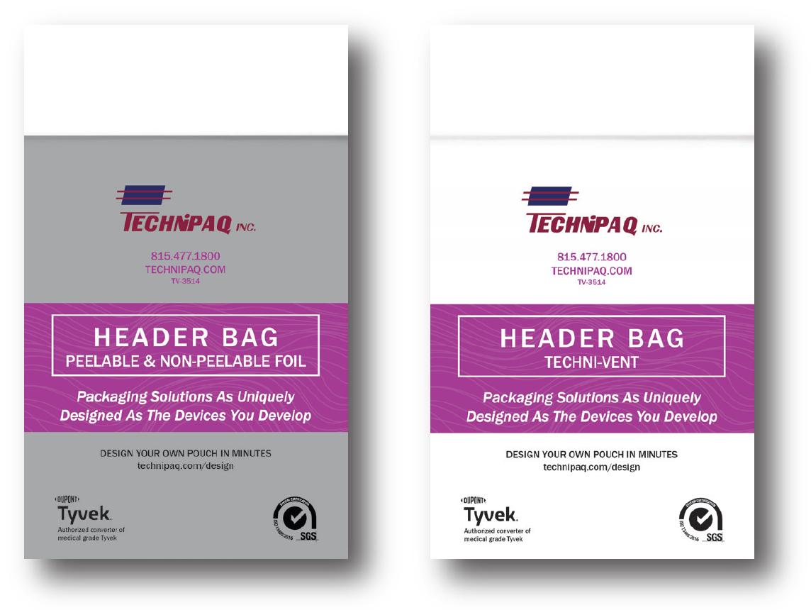 Header Bags
