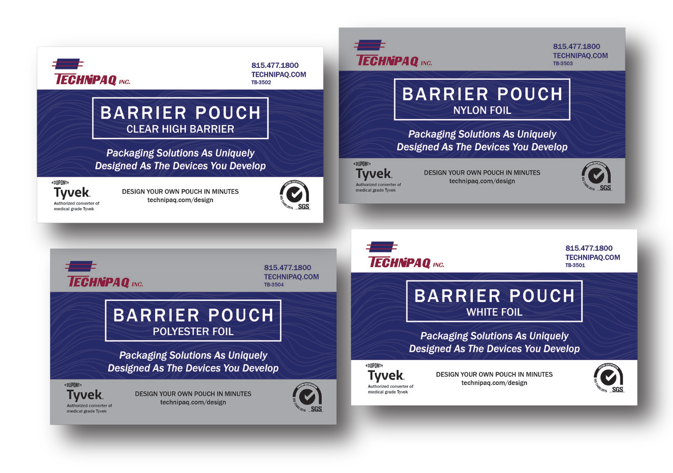 Barrier Pouches